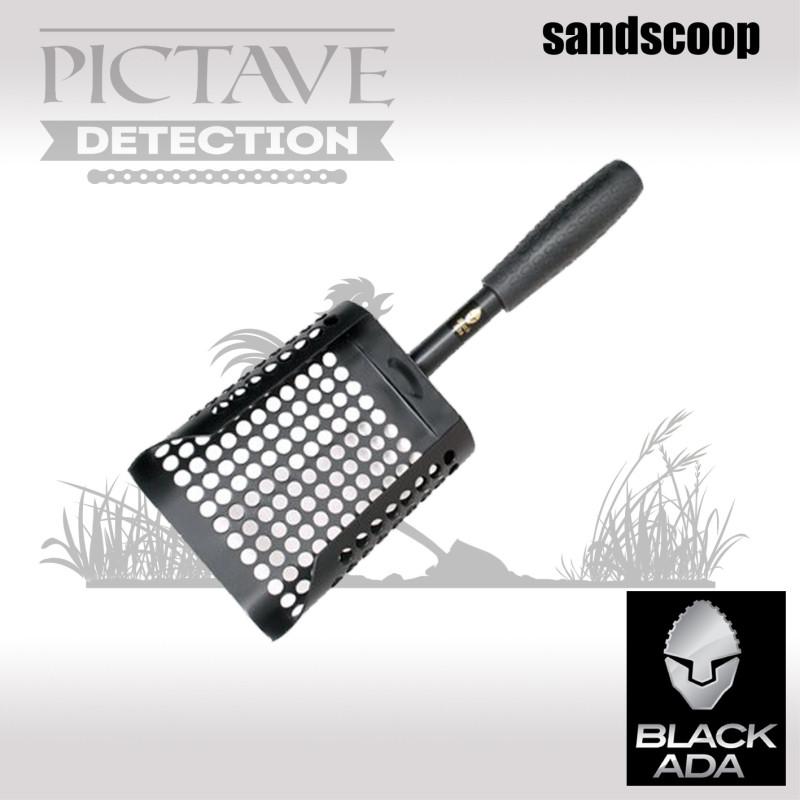 Pelle Black Ada sandscoop