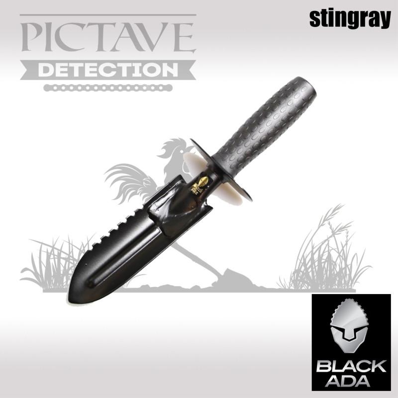 Pelle Black Ada stingray INOX