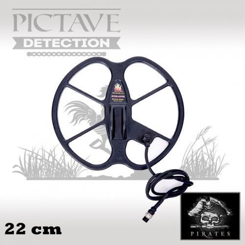 disque pirates 22 cm