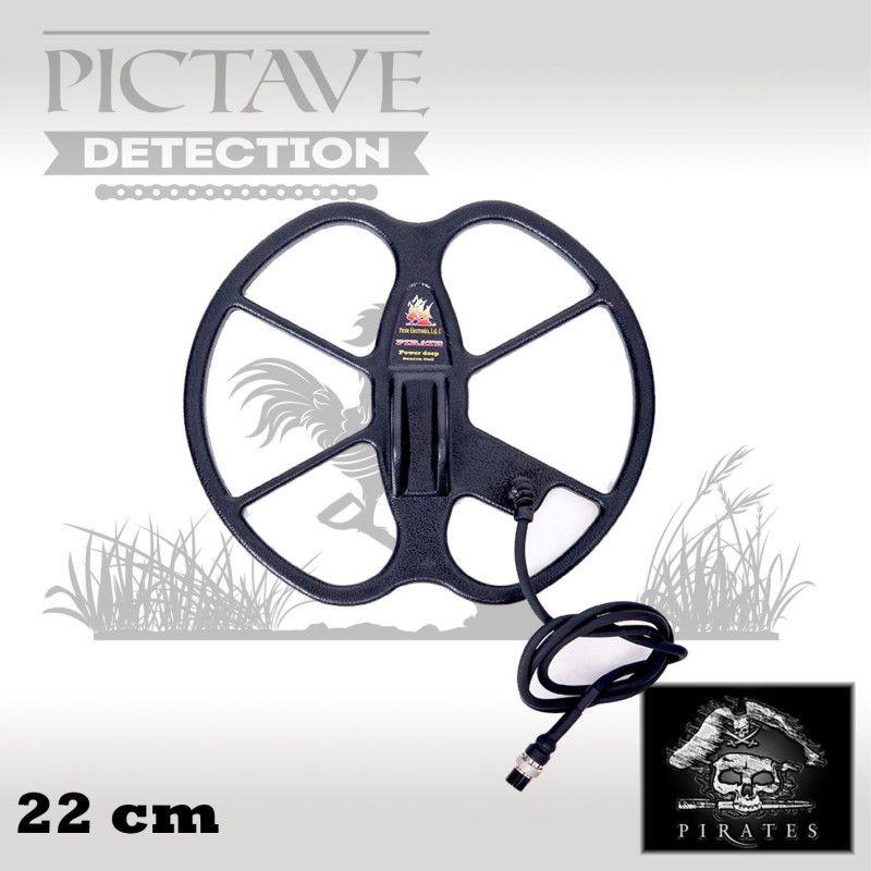 disque pirates 22 cm