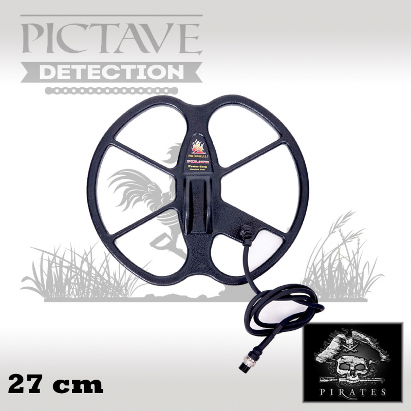 disque pirates 27 cm