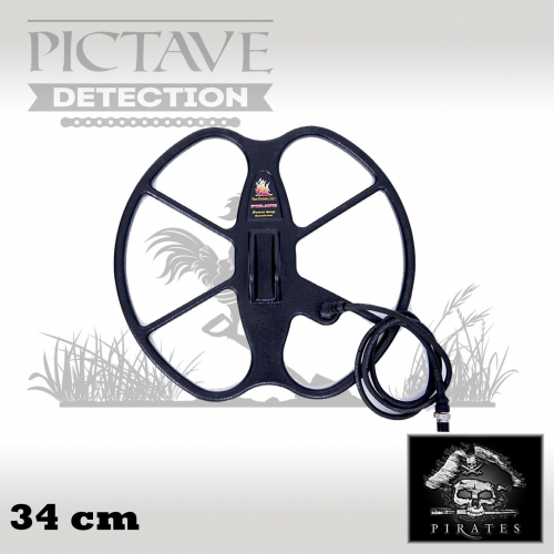 disque pirates 34 cm