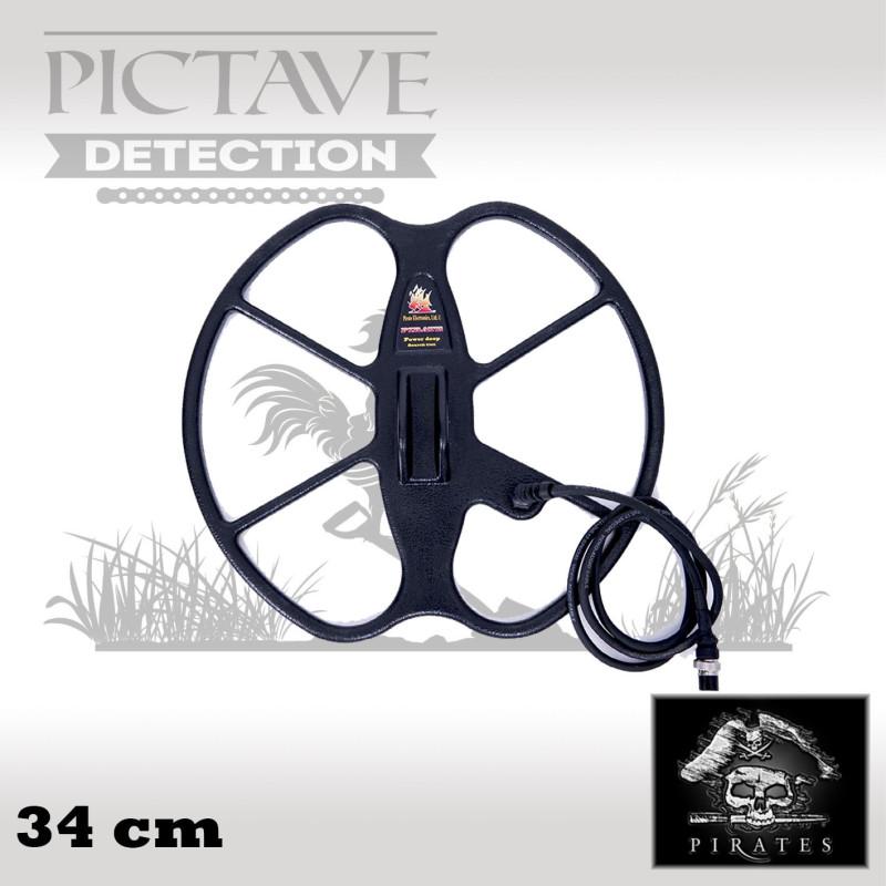 disque pirates 34 cm