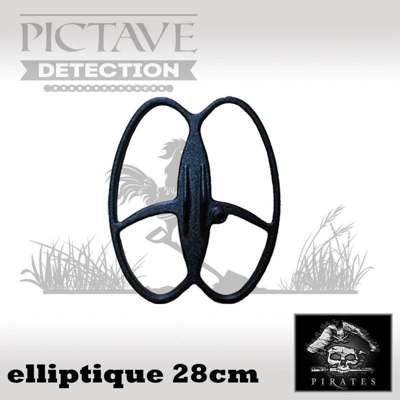 disque pirates ELLIPTIQUE 22 CM