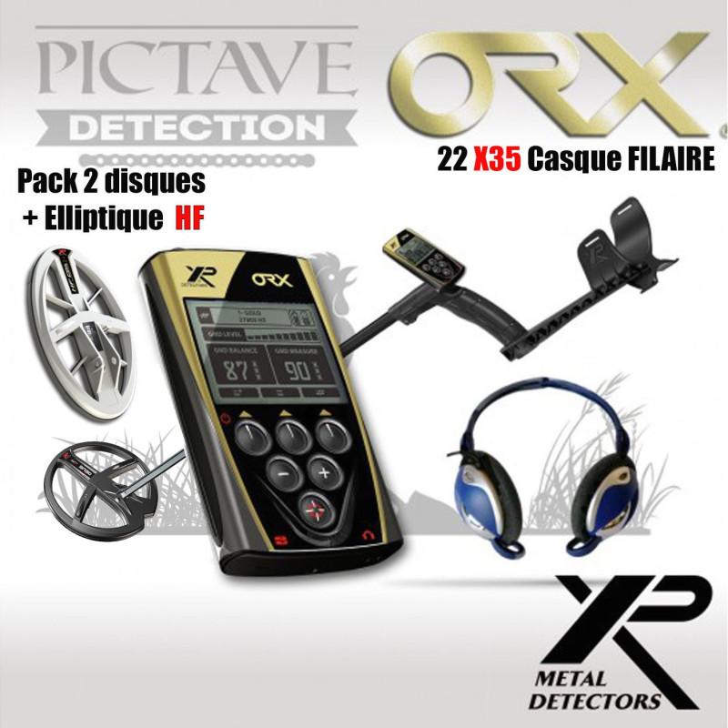 xp orx 22 x35 + Disque elliptique HF