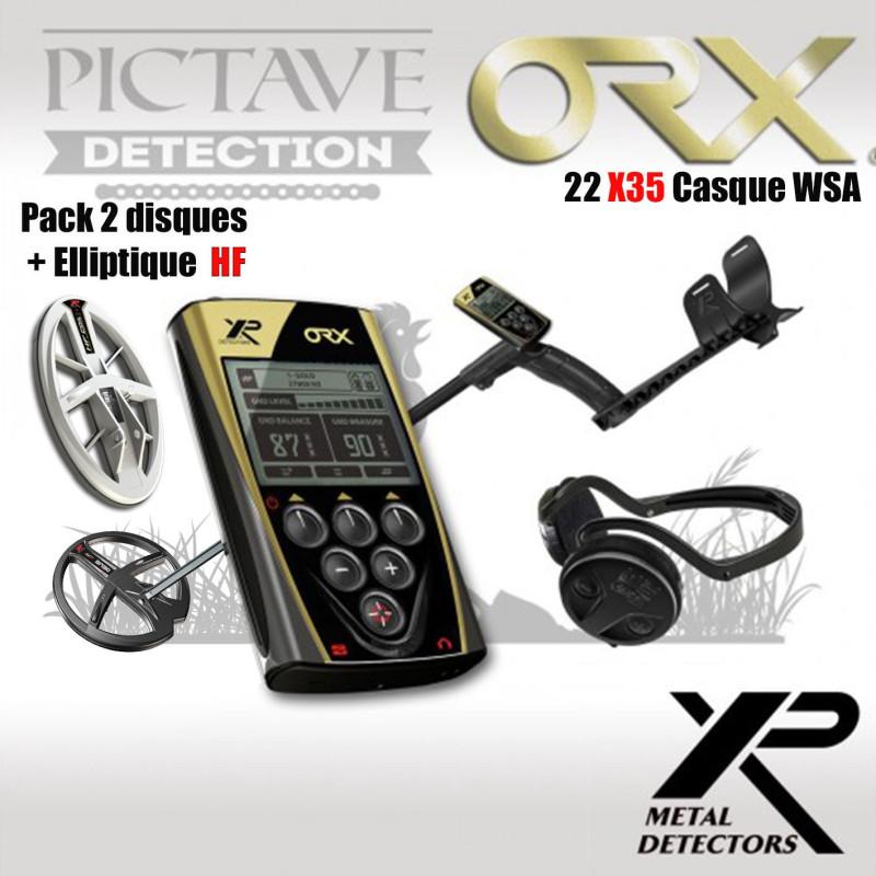 xp orx 22 x35 WSA + Disque elliptique HF