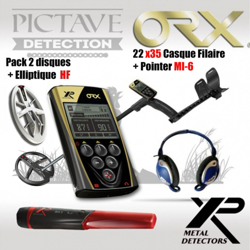 xp orx 22 x35 + Elliptique HF + Pointer MI-6
