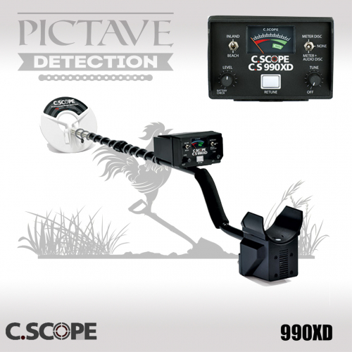 Détecteur C.SCOPE CS990XD