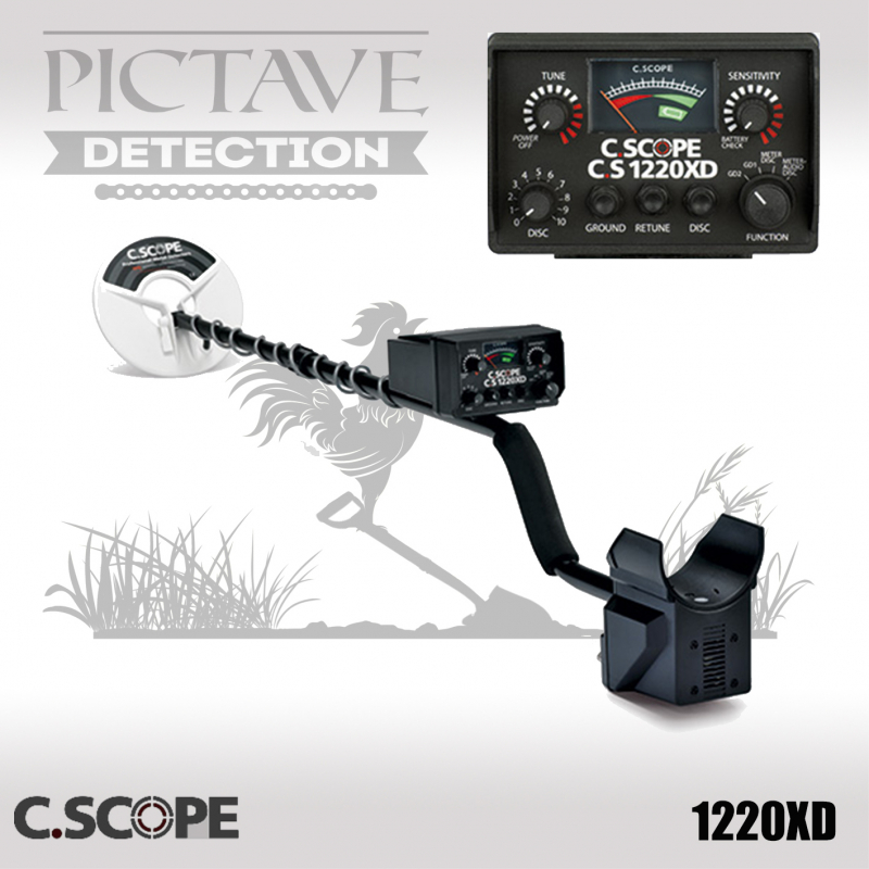 Détecteur C.SCOPE CS1220 XD