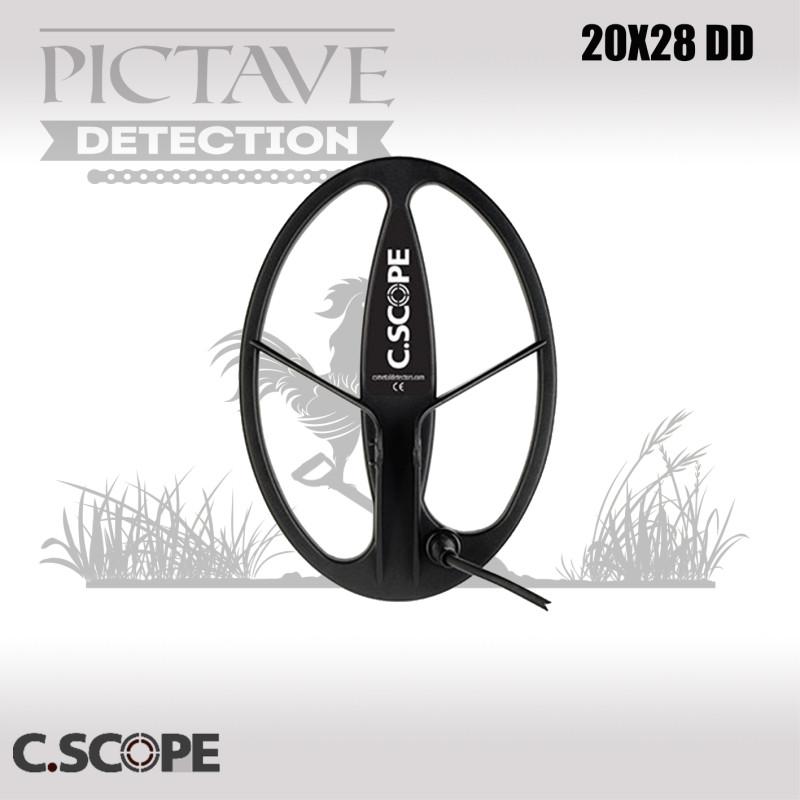 DISQUE 20 X 28 cm DD C.SCOPE