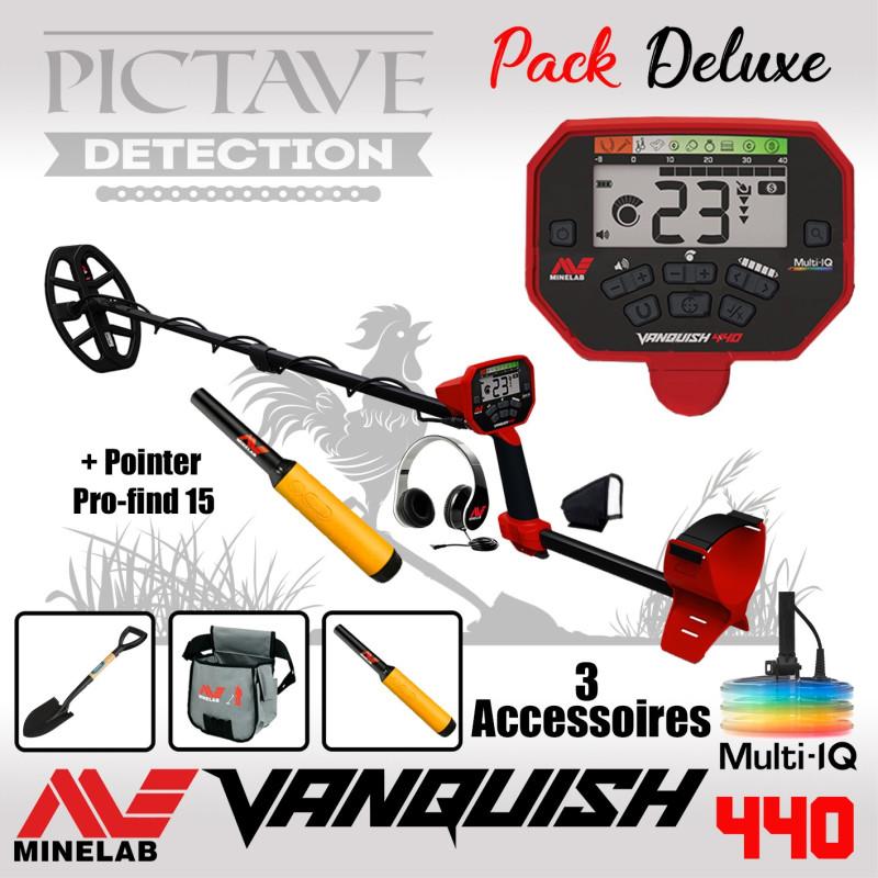 Minelab Vanquish 440 Pack Deluxe