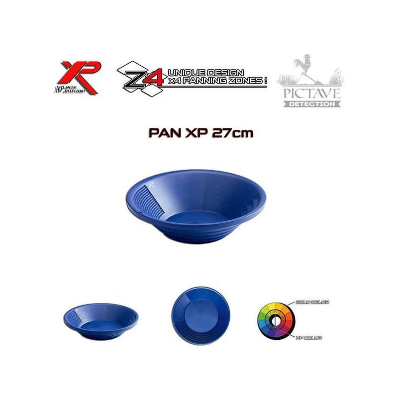 XP GOLD PAN 27 CM - 11''