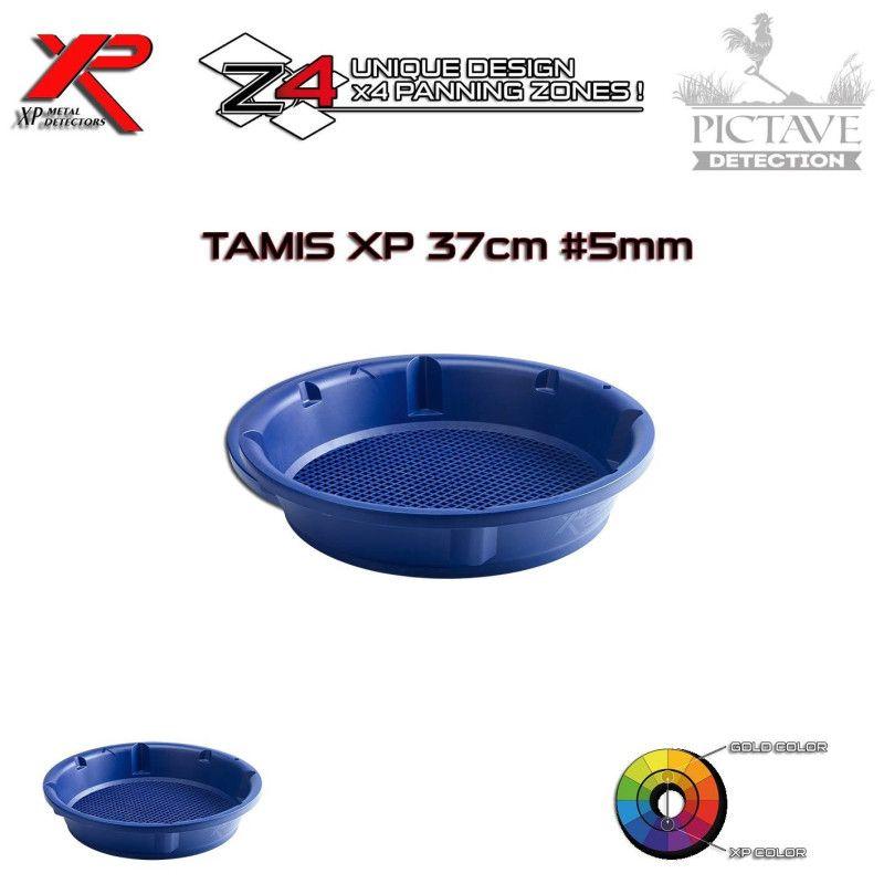 TAMIS D'ORPAILLAGE EN 37 CM - 5 MM XP GOLD CLASSIFIER