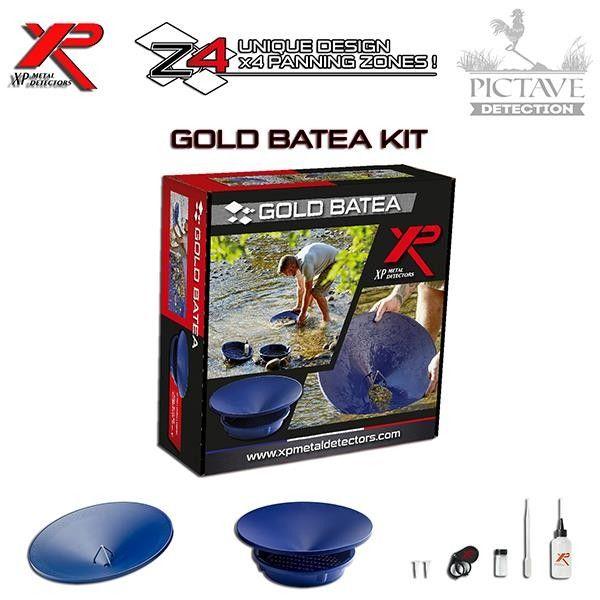 Kit batée d'orpaillage XP