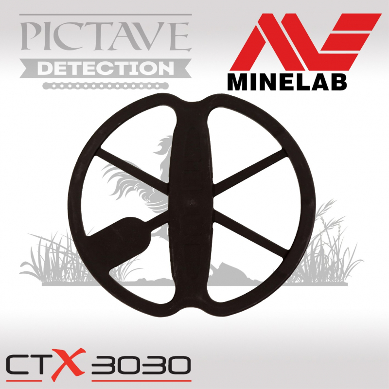 protege disque minelab CTX 28CM