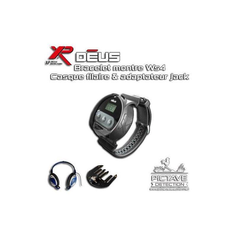 Pack bracelet montre WS4 Pour xp deus