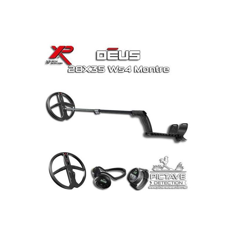XP DEUS Lite Pack Montre 28 WS4 + Pictave Protect