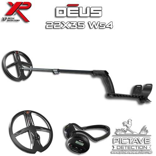 XP DEUS PACK Lite ws4 22