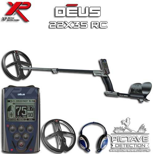 XP DEUS Pack RC 22