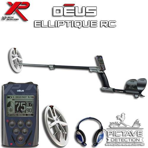 XP DEUS PACK RC Elliptique HF