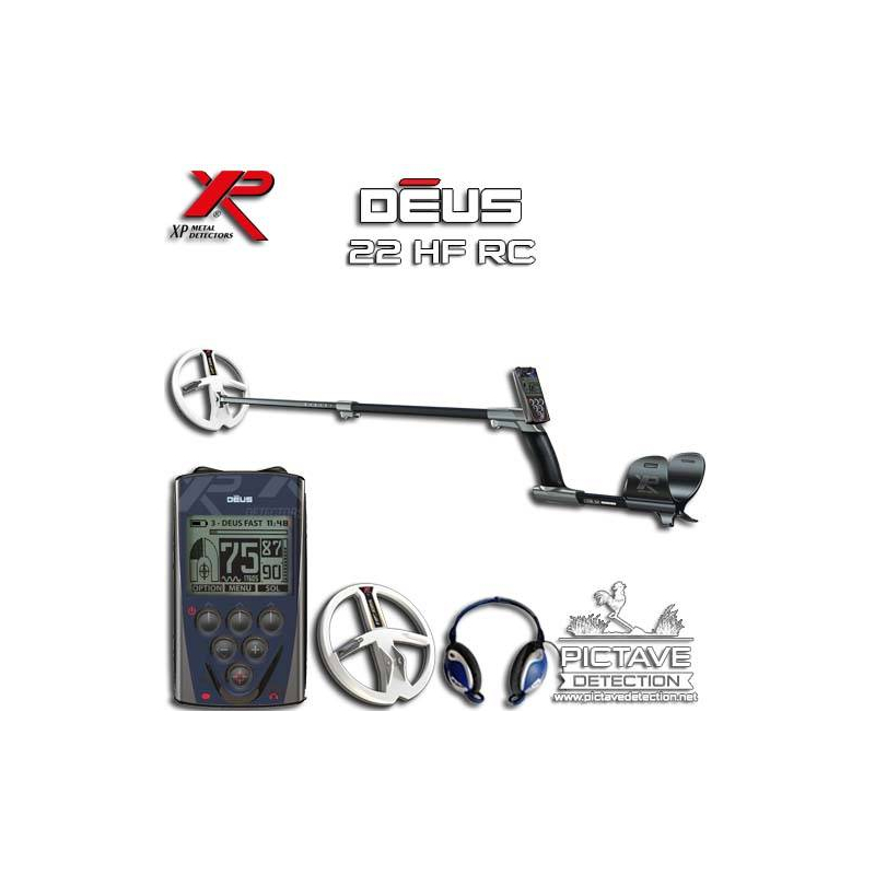 XP DEUS PACK RC 22 HF