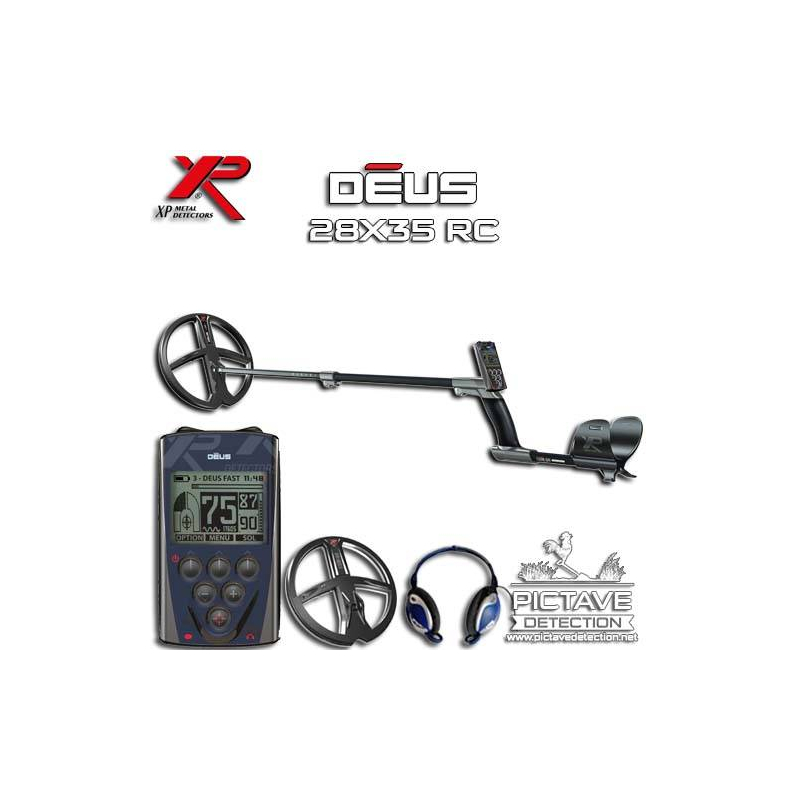 XP DEUS Pack RC 28