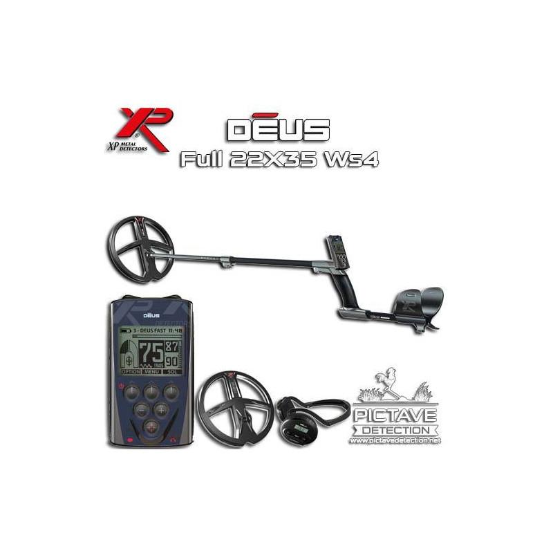 Détecteur XP DEUS full ws4 22