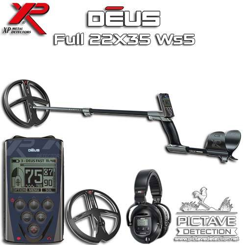 XP DEUS Pack Full 22 WS5