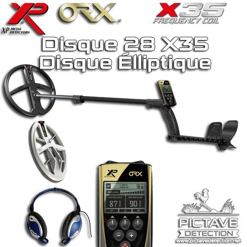xp orx 28 x35 + Disque elliptique HF + Pictave Protect