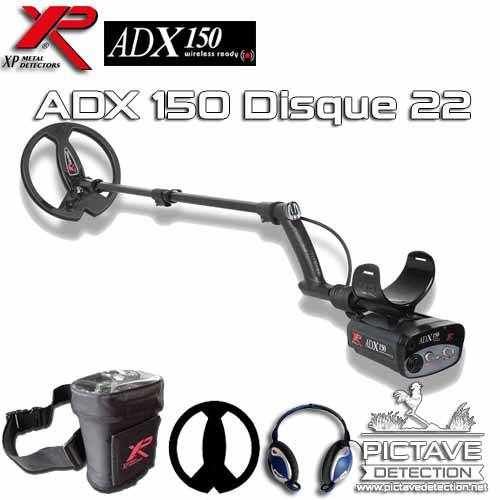 XP ADX 150 Pack Basic Disque 22