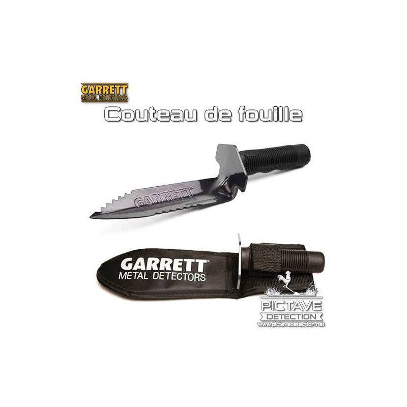 Couteau de fouille Garrett