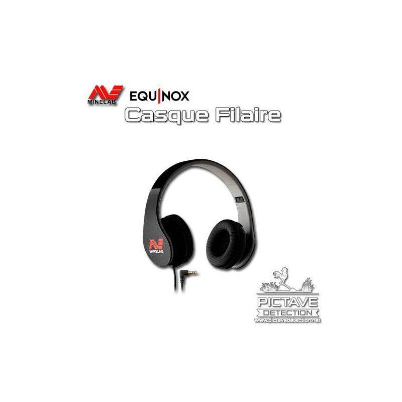 MINELAB CASQUE FILAIRE EQUINOX