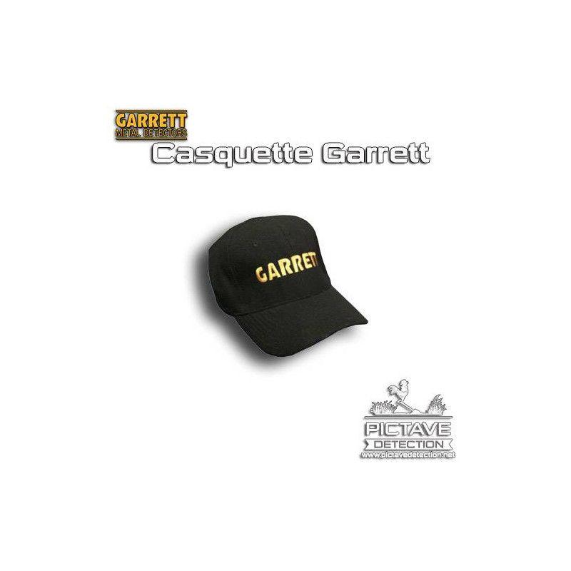 garrett casquette black