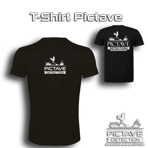 T-shirt Pictave Detection taille S