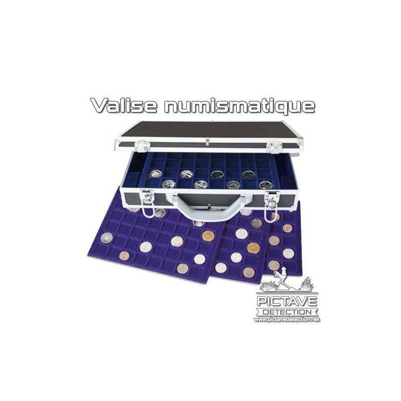 Valise numismatique 260 monnaies