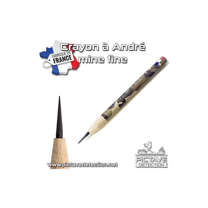 Crayon d'andré Pointe fine 000
