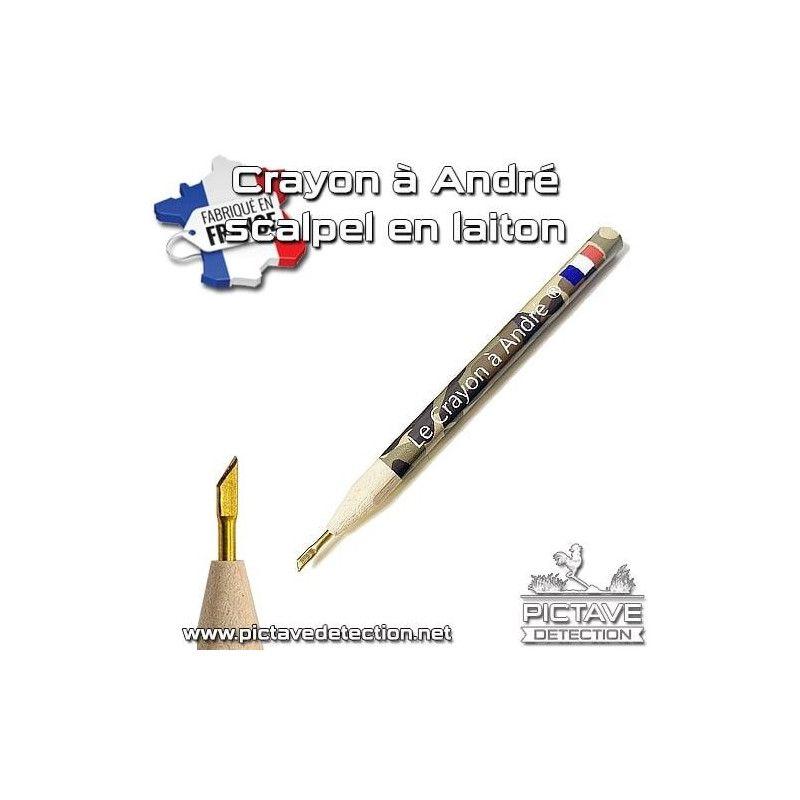 Crayon d'André scalpel