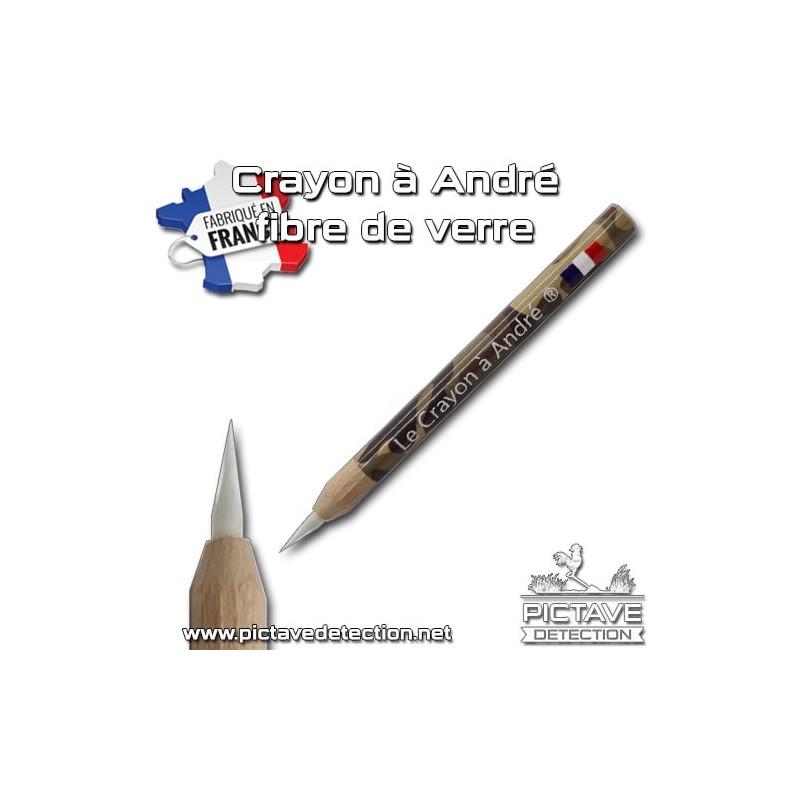 Crayon d'André Fibre de verre