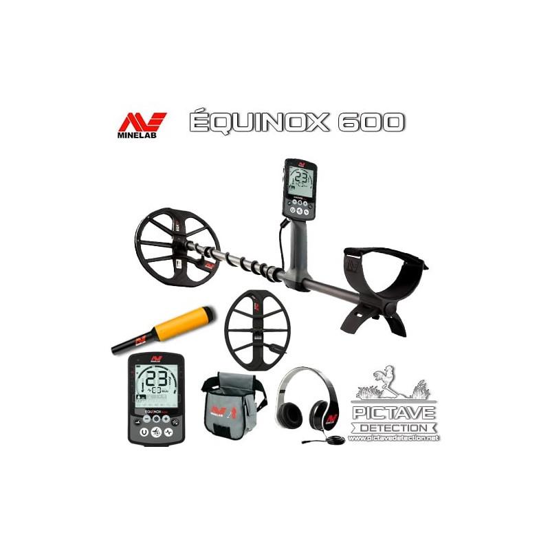 Minelab EQUINOX 600 pack deluxe