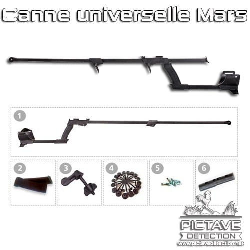 Canne universelle Mars