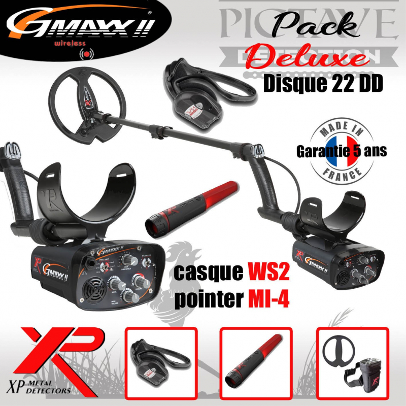 G-MAXX II PACK DELUXE DISQUE 22