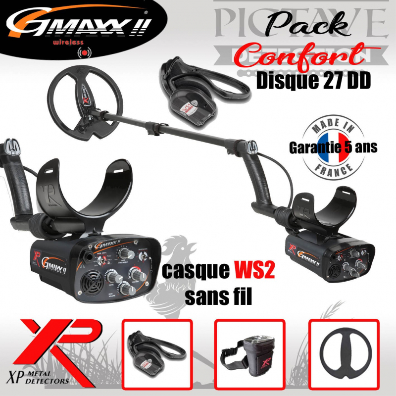 G-MAXX PACK CONFORT DISQUE 27