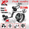 XP DEUS Lite ws4 22 Pack Montre audio
