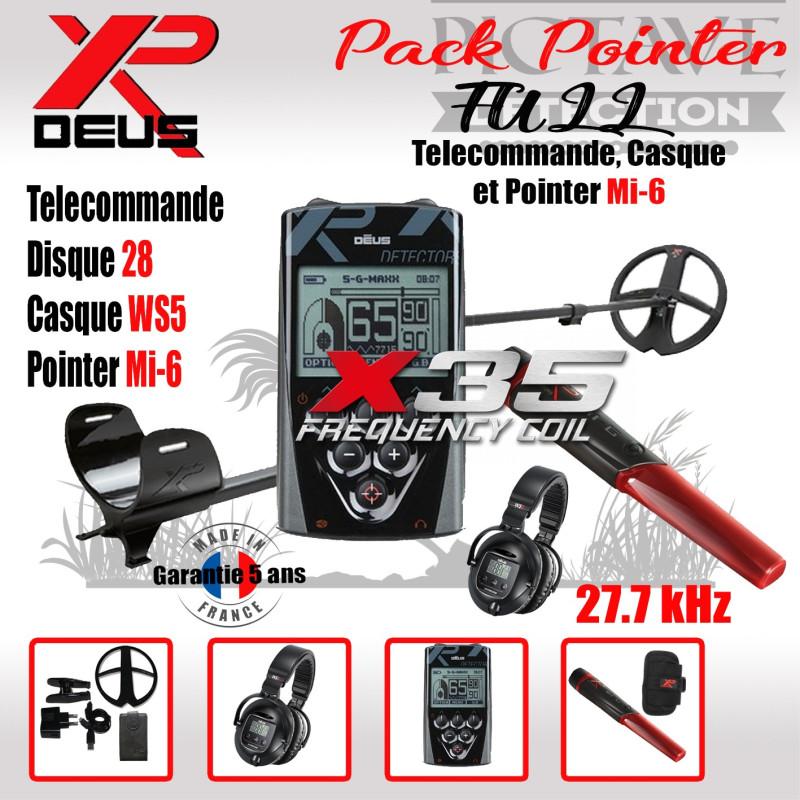 XP DEUS PACK POINTER 28 WS5