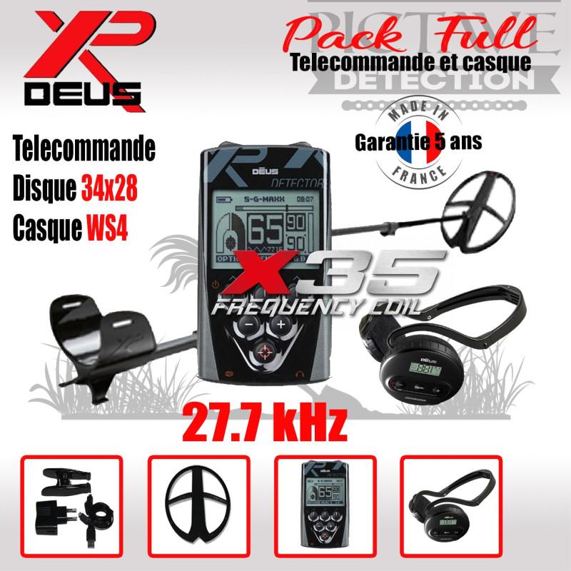 XP DEUS PACK full 34x28 WS4
