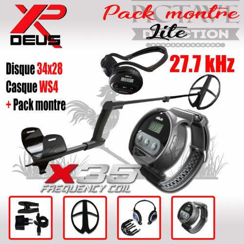 XP DEUS PACK MONTRE 34X28 WS4