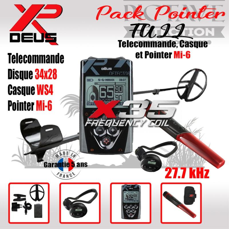 XP DEUS PACK full POINTER 34x28 WS4