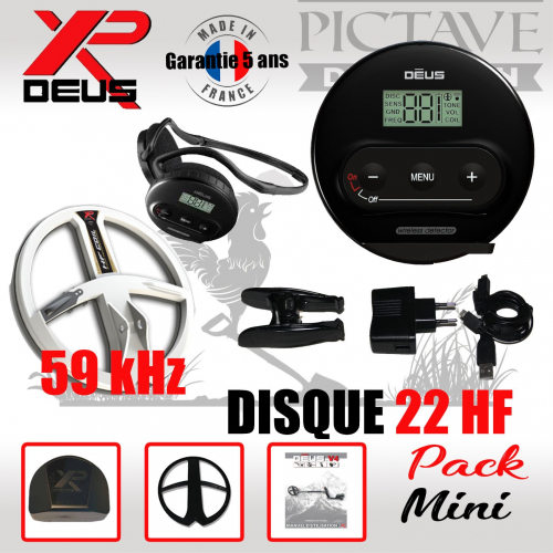XP DEUS Pack MINI 22 HF