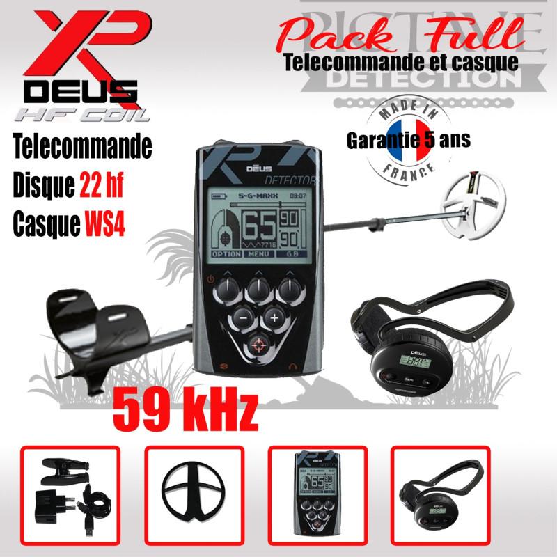 XP DEUS PACK full 22 HF WS4