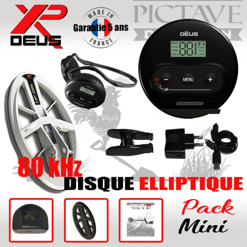XP DEUS PACK MINI ELLIPTIQUE HF